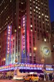 Radio City Music Hall in New York — Stock Photo