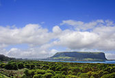 View of The Nut near Stanley Tasmania east coast — ストック写真