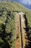 Savage River slurry pipeline — Stock Photo