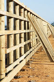 Fence construction 1689 — Foto Stock