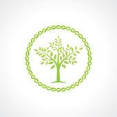 Symbol of tree — Stock Vector