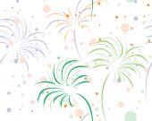 Fireworks — Stock Vector
