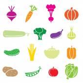 Grönsaker — Stockvektor
