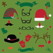 Christmas clothes — Stock Vector