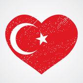 Emblem of turkey — Stock Vector