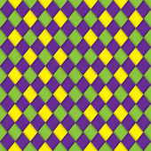 Mardi gras pattern — Stock Vector