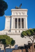 Monument Vittorio Emanuele — Stock Photo