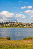 Tihany village at Lake Balaton — Stock Photo