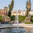 Fountain in Villa Bellini public park — Stockfoto #69495725