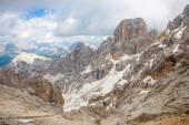 Mountain peaks in Dolomites — Stock Photo