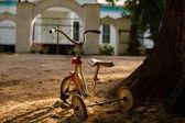 Gamla trehjuling — Stockfoto