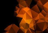 Multicolored background polygon — Stock Vector