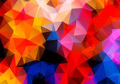 Multicolored background polygon — Vecteur