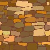 Stone masonry — Stock Vector