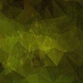 Fond vieux vintage polygonale vert — Photo