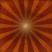 Sunburst Grunge sobre fondo de papel viejo — Foto de Stock