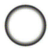Halbton-Kreis — Stockfoto