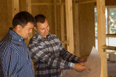 Architect and Client Discussing the Design — Stock Photo