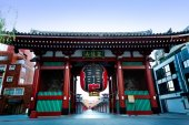 Sensouji temple — Stock Photo
