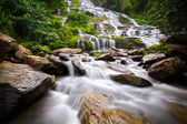 Mae Ya Waterfall — Stock Photo
