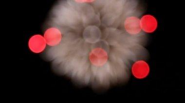 Fireworks display — Stock Video