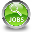 Jobs glossy green round button — Stock Photo #54665045