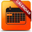 Calendar glossy yellow square button — Stock Photo #56515049