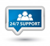 24by7 support team icon — ストック写真