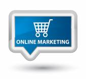 Online marketing ecommerce icon — Photo