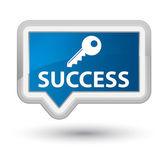 Success key icon — Stock Photo
