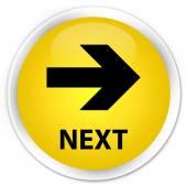 Next (right arrow icon) yellow button — Stock Photo