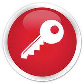 Key icon red button — Stockfoto