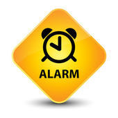 Alarm yellow button — Fotografia Stock