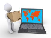 Shipping to the whole world — Stock Photo