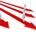Постер, плакат: Businessmen have their own path