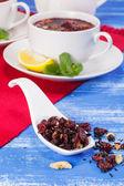 蔓越莓茶 — 图库照片