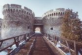 Architecture details of Kalemegdan fortress in Belgrade — Stock Photo