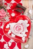 Valentines dinner. — Stock Photo