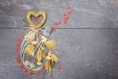 Valentijnsdag diner concept — Stockfoto