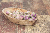 Dried rosebuds — Stock Photo