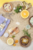 Natural beauty care — Stock Photo