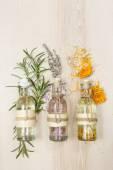 Aromatherapy massage oils — Stock Photo