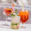 Summer cocktails — Stock Photo #77405466