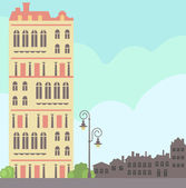 City set — Vector de stock