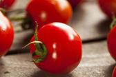 Red Organic Cherry Tomatoes — ストック写真