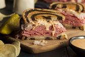 Homemade Reuben Sandwich — ストック写真