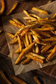 Cajun Seasoned French Fries — Stock Photo