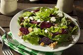 Raw Green Beet and Arugula Salad — Stock Photo