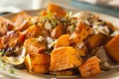 Homemade Cooked Sweet Potato — Stock Photo
