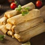 Homemade Corn and Chicken Tamales — Stock Photo #54150441